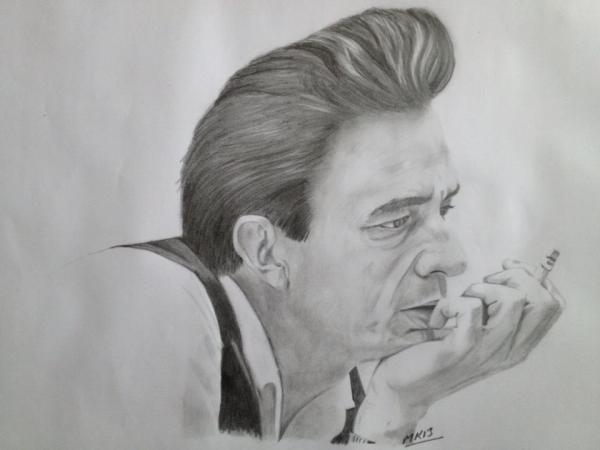 Johnny Cash par 11mk11